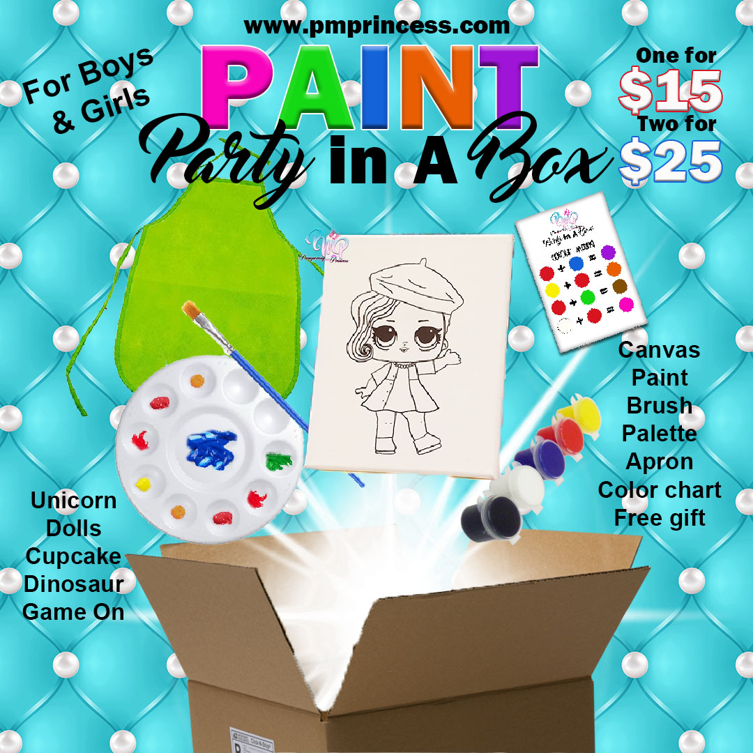 Paint Party In A Box