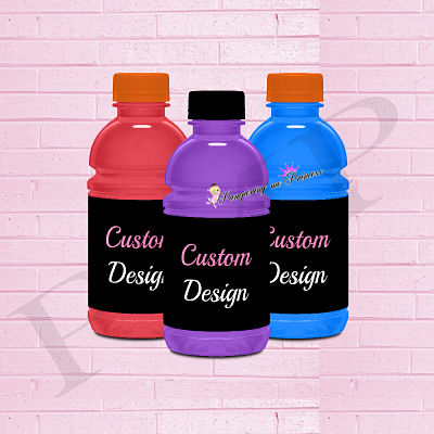 12 Custom Drink Label