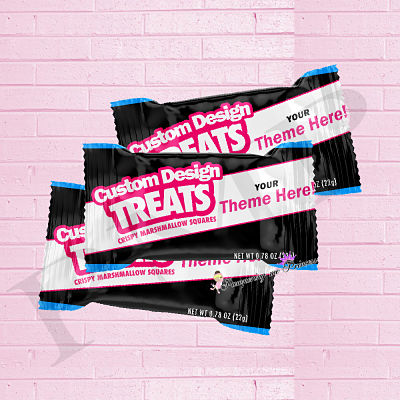 12 Custom Treat Wrappers