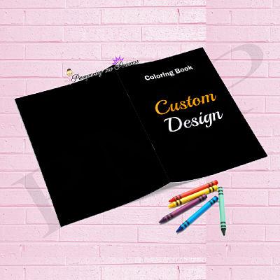 Custom Coloring Book