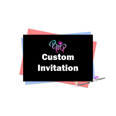 12 Custom Invitation