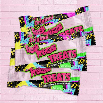 Digital Fresh Princess Treat Wrapper