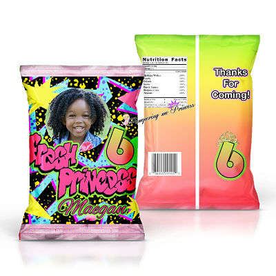 12 Fresh Girl Princess Treat Bag